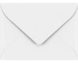#17 Mini Envelopes - 24 lb. White