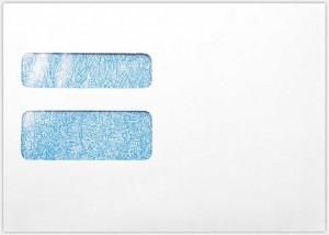 W-2 / 1099 Envelopes - 24 lb. White
