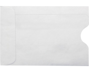 Credit Card Sleeve Envelopes - 24 lb. White - Envelope Ink